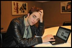 """*** BITS AND ROBS ***  Rob: """"I do not have any twitter nor Facebook accounts. There are too many people pretending to be me. If you want to know me, you have to go to the cinema."""""""