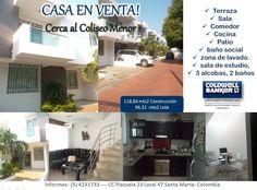 Casa en Venta - Sector Residencial #venta #santamarta #inmobiliaria