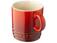 Le Creuset mugs are designed to compliment any kitchen stoneware. Le Creuset Mugs, Le Creuset Stoneware, Stoneware Mugs, Neutral, Three Rings, Cozy Kitchen, Cup And Saucer, Dinnerware, Tea Cups