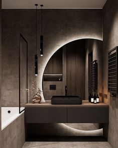 Bathroom Design Luxury, Modern Bathroom Design, Modern House Design, Industrial Bedroom Design, Modern Luxury Bedroom, Modern House Facades, Modern Master Bedroom, Luxury Dining Room, Modern Architecture House