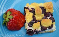 Lemon Blueberry Cheesecake Bars 2