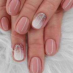 40 Newest Short Nail Art Design Don t Miss In spring And summer - - Art design Dont Nail newest short spring summer Short Gel Nails, Short Nails Art, Cute Nails, Pretty Nails, My Nails, Short Nail Designs, Nail Art Designs, Newest Nail Designs, Winter Nails