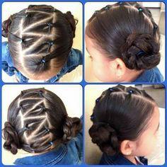 Peinado muuuy sencillo