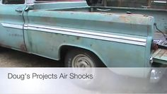 """Air Shocks give your Chevy C10 that """"I can haul the World"""" Look. Air shocks improve your trucks Rake, Towing and hauling abilities. Besides, they make your C10 Pickup look COOL......."""