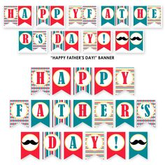 FREE Father's Day Party Printables from Sarah Hope Designs | Catch My Party