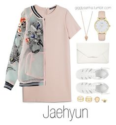 """Nighttime date // Jaehyun"" by suga-infires ❤ liked on Polyvore featuring MANGO, Pamela Love, ASOS, Style & Co., LULUS and Kate Spade"
