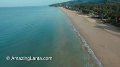 Klong Nin Beach Aerial View