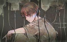 Dark anime boy Medical Guro