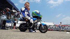 Marco Scaravelli, el niño de 6 años que murió a bordo de su minimoto