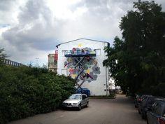 FAGani - Festival animovaného graffiti / The Festival of Animated Graffiti Street Art, Street View, Graffiti, Names, Animation, Projects, Log Projects, Blue Prints, Animation Movies