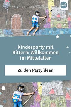 Du brauchst noch ein Motto für eine Kinderparty oder eine Faschingsfeier? Wie wäre es, wenn die kleinen Gäste als edle und mutige Ritter erscheinen, die bestimmt heldenhaft Spaß dran haben werden ... #kinderparty #geburtstag #fasching #faschingsfeier #kind #kleinkind #ritter #einladung #mittelalter #party #feiern #freude #gäste #held #fastnacht #karneval #konfetti #verkleiden #kostüm #verkleidung #familie #familienleben #alltagmitkindern #lebenmitkindern Map, Cool Mottos, Knight Games, Dragon, Kid Birthdays, Location Map, Maps