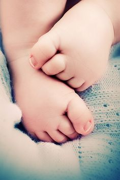 baby's feet - have to do this @Joy Watts