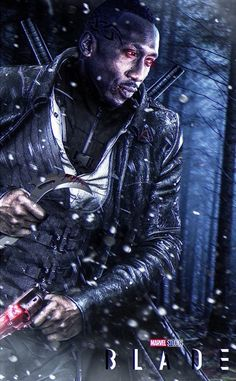 Check out the brand new fan art that sees Mahershala Ali as Blade in the MCU. Find it here only at The Movie Sleuth. Marvel Comic Universe, Marvel Comics Art, Marvel Comic Books, Comics Universe, Marvel Characters, Fictional Characters, Mahershala Ali, Apocalypse, Eric Brooks