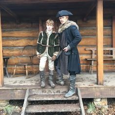 #fathersday Outlander News, Outlander Series, Love Sam, Sam And Cait, Claire Fraser, Jamie Fraser, Diana Gabaldon, Best Actress, Best Actor