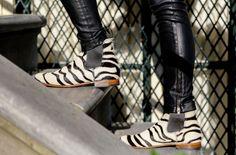 O'Quirey Lady Safari  #zebra #boots #leather #handmade #dutch #design