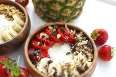 Healthy dessert bowls