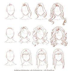 Картинка с тегом «drawing, draw, and hair»