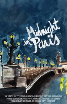 Movie posters: Midnight In Paris on Behance
