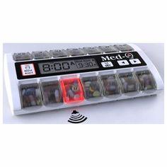 Med-Q Single Beep Reminder Automatic Medication Pill Box Dispenser