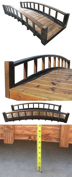 Bridges 115773 Samsgazebos Miniature Anese Wood Garden Bridge Treated Embled 25 Long It Now Only 141 49 On Ebay