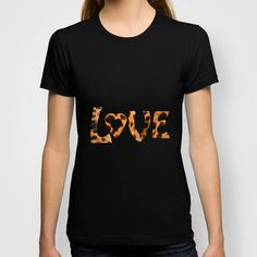 LOVE T-shirt by catspaws | Society6