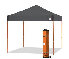 With 8 NEW colors and upgraded stylizing, the Pyramid™ Instant Shelter® takes portable shade to a new level of cool. Featuring a clear span center inside and a full 100 square feet of shade, set yourself apart from the crowd and settle into shaded comfort. And the all-new upgraded roller bag makes it E-Z getting you to the beach, the stadium or the street fair. E-Z UP quality, innovation and style has you covered. View previous model