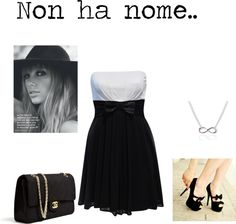 """""""Non ha nome.."""" by giusisusiiovene ❤ liked on Polyvore"""