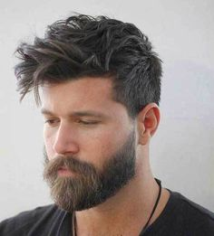 hairstyles with beard 2021