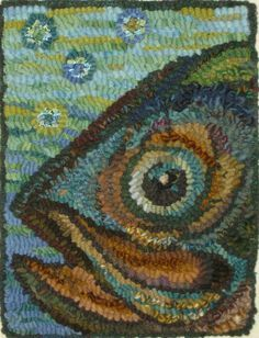 3 dimensional rug hooking - Google Search