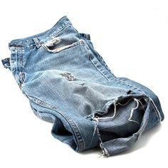Как зашить дырку на джинсах ❤ liked on Polyvore featuring jeans, pants, bottoms, denim, blue jeans, denim jeans and blue denim jeans