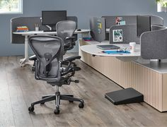 We are very excited to introduce the new and improved @hermanmiller Aeron Remastered. The original Aeron is one of the most recognisable and revolutionary ergonomic office chairs ever made, and now it is smarter and stronger than ever. Preorder now to experience the Aeron Remastered for yourself. #HermanMiller #AeronRemastered