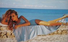 Vogue May 1975 | Jerry Hall by Norman Parkinson