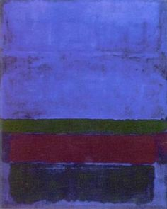 Rothko, one of my favorite artists.