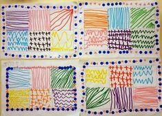 Preschool Writing, Preschool Art, Preschool Activities, Kindergarten Art Lessons, Art Lessons Elementary, Drawing For Kids, Art For Kids, Arte Elemental, Form Drawing