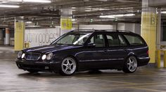 Mercedes Benz W210 Wagon on OZ Mito Wheels 04