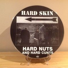 Hard Skin - Hard Nuts And Hard Cunts Pic Disc Skinhead Oi! Punk | eBay