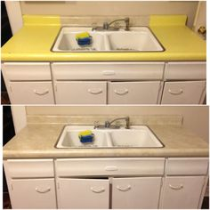 Contact Paper Shelf Liner To Cover Ugly Countertops Winning