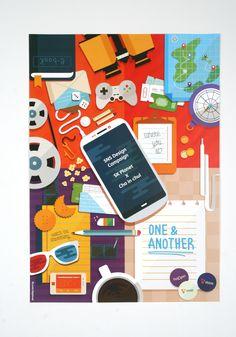 #Design #OneNAnother #SKplanet #Goods #Poster #Teaser #InchulCha