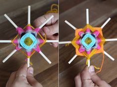 Instructions for ojos de dios or godseye21