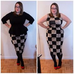Styling a bodycon midi dress for work to weekend