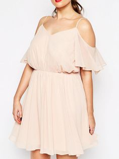 Sexy Cut-Out Plus Size Dress