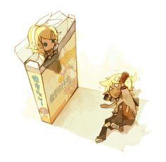 Vocaloid - Rin and Len Kagamine
