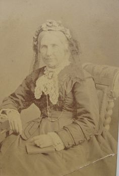 Thought to be my great great grandmother Julia Pitt, nee Johnson.