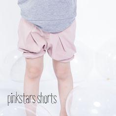korte broek, roze pink shorts - kids on the moon www.kidsfinest.nl