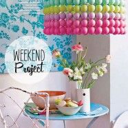Ping Pong Balls. I want to do this! Who wants to have a pinterest craft day with me?