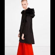 ZARA COAT NEW!!! Black Zara Jackets & Coats