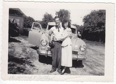 After the car broke down on the way to the honeymoon, they got a better one ~ 1948
