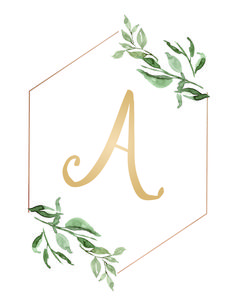 Free Printable Monograms to decorate your home. Perfect for gallery walls, bedrooms and nurseries. Monogram Wallpaper, Monogram Wall Art, Letter Wall Art, Alphabet Wallpaper, Free Printable Monogram Letters, Banner Letters, Flower Graphic Design, Stylish Alphabets, Free Printables