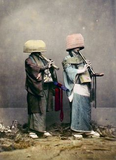 A komusō (虚無僧) was a Japanese mendicant monk of the Fuke school of Zen Buddhism, during the Edo period of 1600-1868.