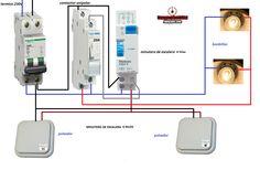 Esquemas eléctricos: MINUTERO ESCALERA ELPA8 4HILOS